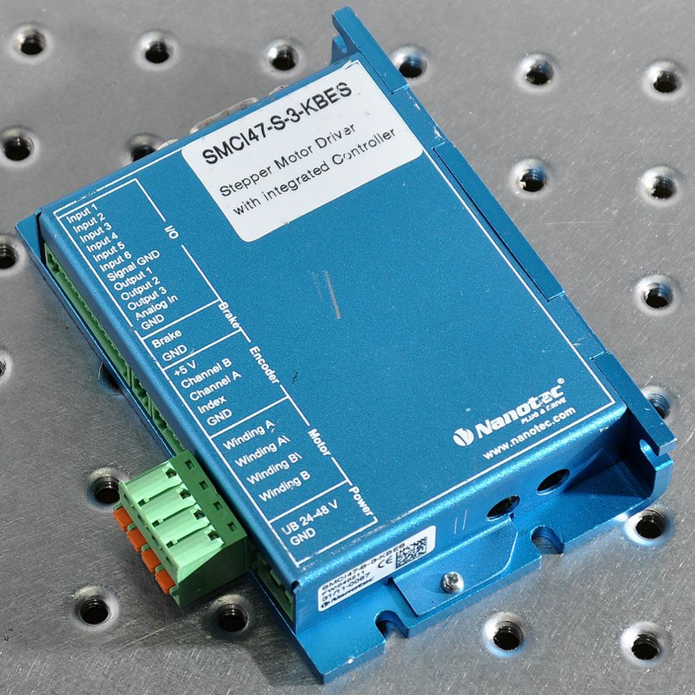 Nanotec SMC147-8-3-KBES stepper motor driver with integrated controller