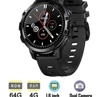 new 4g lte smart watch phone 1 6 inch full cycle full touch screen helio p22 mtk6762 octal core cpu ram 4gb rom 64gb smartwatch