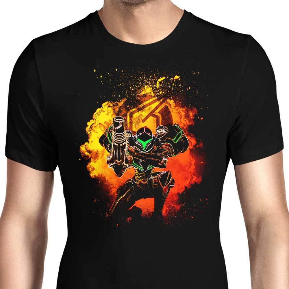 Alma de SAMUS Camiseta Hombre impreso gráfico camisetas casual algodón ropa para hombre