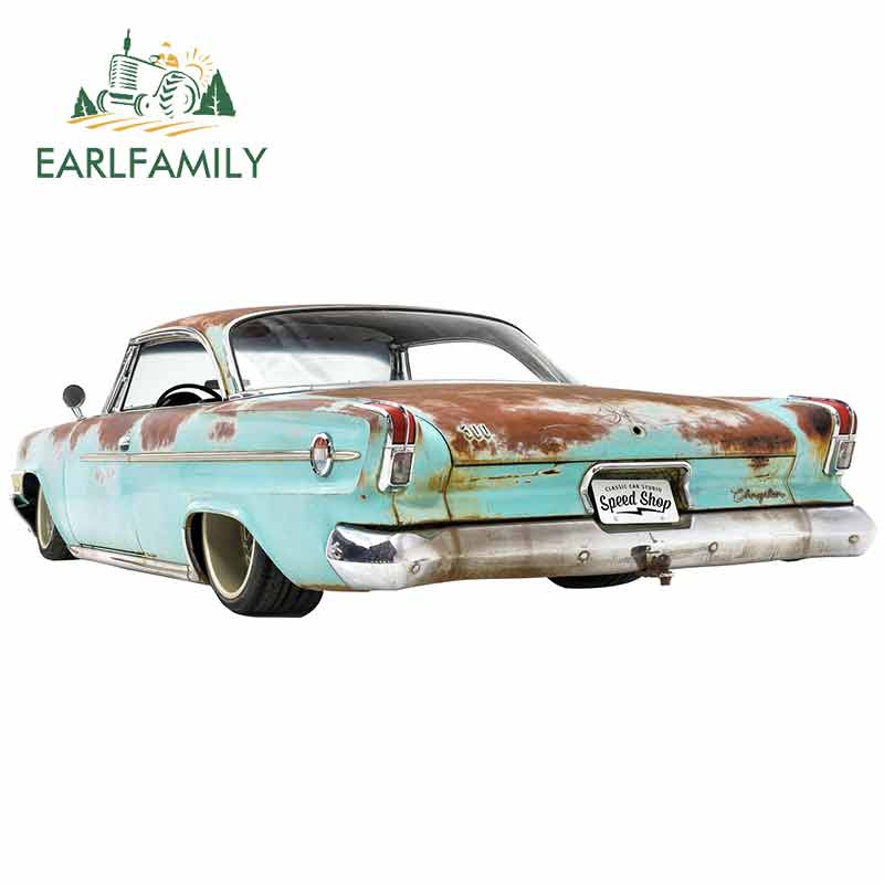 EARLFAMILY 13cm x 4,9 cm für 1962 Chrysler 300 Ratte Stange Lustige Auto Aufkleber DIY Anime Mode Benutzerdefinierte Druck vinyl Auto Aufkleber