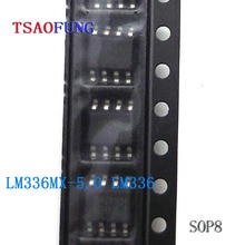 5Pieces LM336MX-5.0 LM336M-5.0 LM336 SOP8 Integrated Circuits Electronic Components