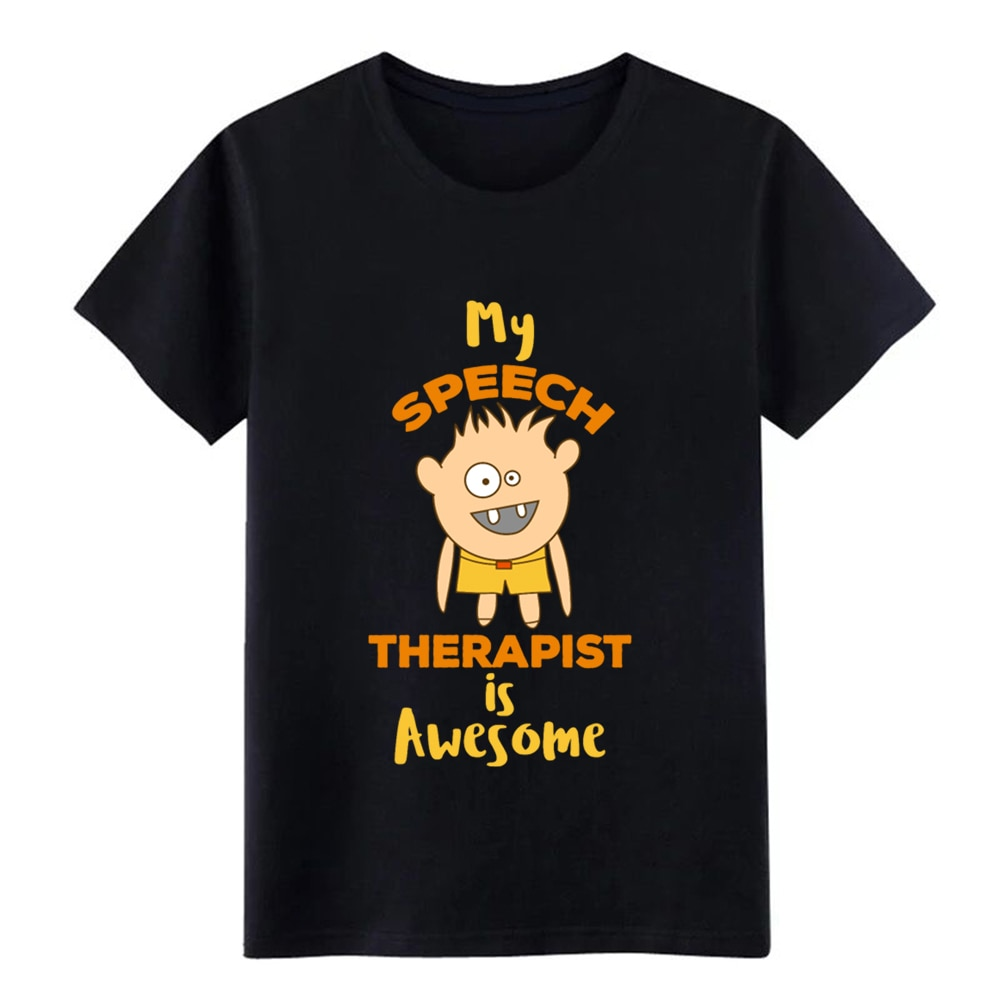 Camiseta de manga corta con Diseño de terapia st-spl de S-3xl con gráfico divertido e informal de verano para hombre