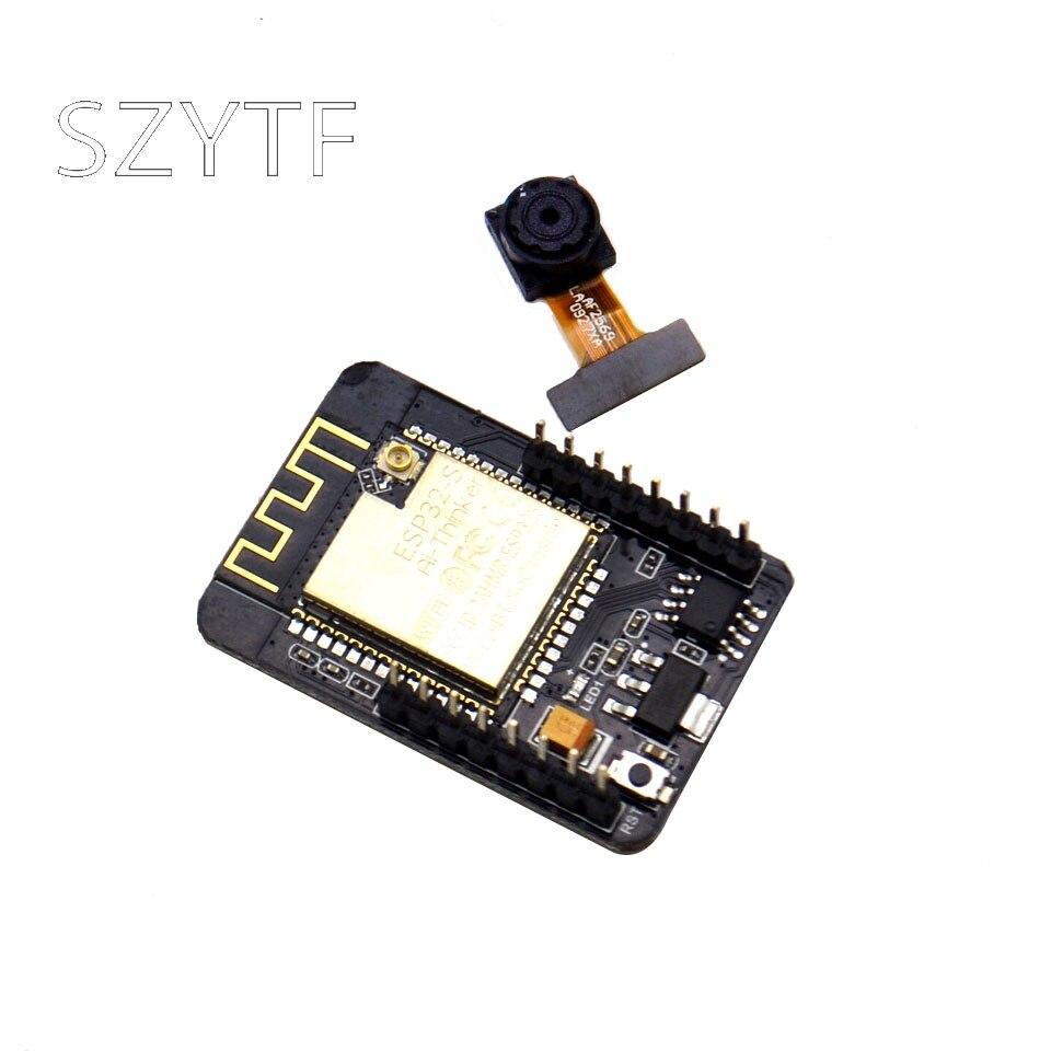 10 pièces WiFi + Module Bluetooth ESP32 série à WiFi/caméra/Anxin/ESP32-CAM carte de développement