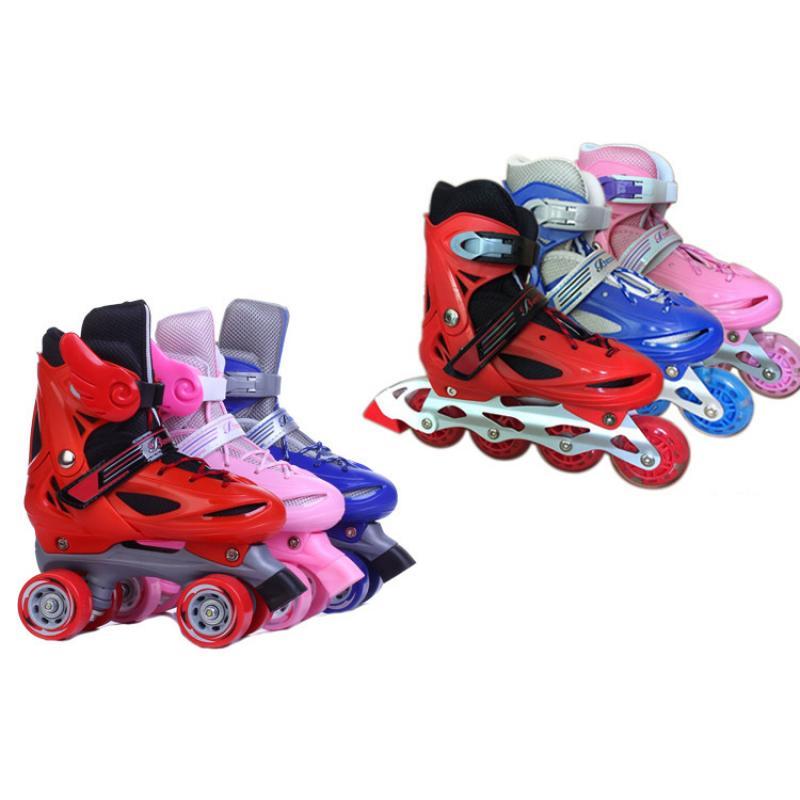 2021 роликовые коньки 2 в 1, детские роликовые коньки, роликовые коньки, кроссовки, Детские уличные коньки, спортивная обувь