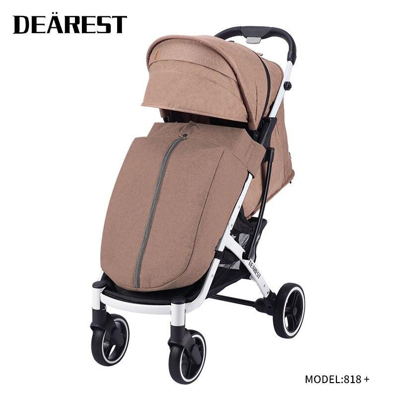 Dearest818 plus 2021 New Baby Stroller Free Stroller Baby Stroller Travel Trolley