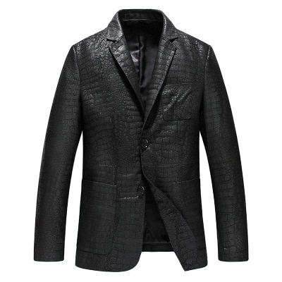 2021 MESHARE Men New Genuine Real Sheep Leather Jacket H5
