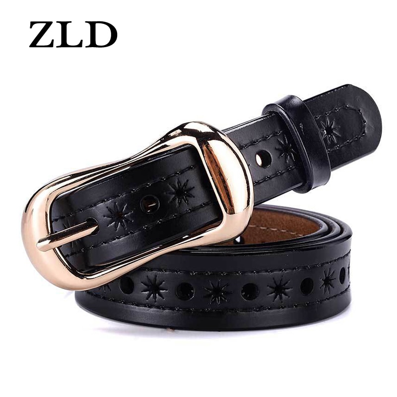 ZLD Women's genuine Quality belt alloy vintage pin buckle belts casual jeans wild luxury brand the ladies belt Cummerbunds