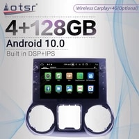 4128g carplay android screen player car for jeep wrangler 3 jk 2011 2017 gps navi px6 auto radio audio stereo head unit no 2din