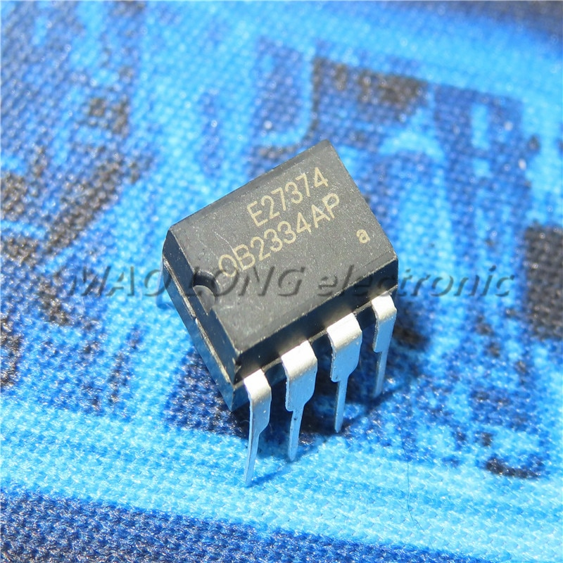 10PCS/LOT OB2334AP DIP-8 power management chip OB2334 New In Stock Original Quality 100%
