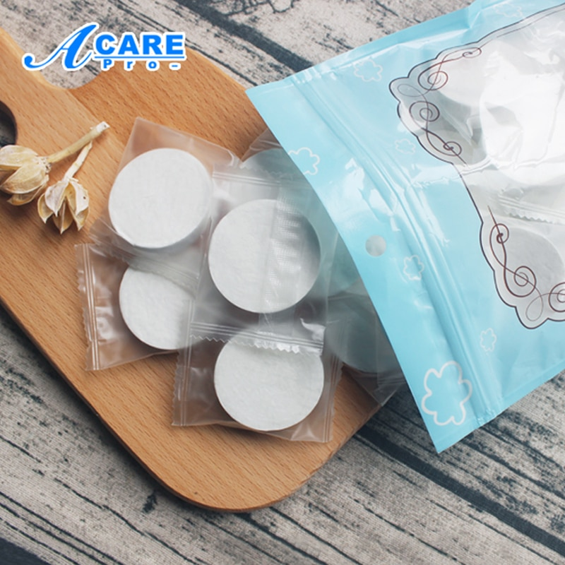 Disposable Facial Masks Papers Natural Skin Care Face Mask Paper Compressed Wrapped Makeup Beauty Masks DIY Tool