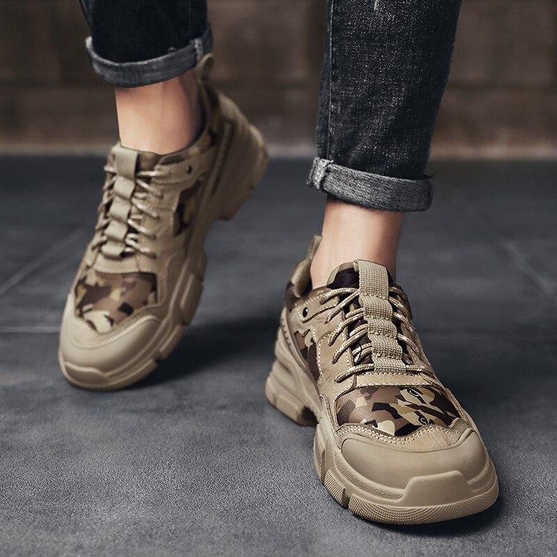 الرجال حذاء كاجوال موضة جلد طبيعي حذاء رجالي حذاء رياضة أحذية رجالي أحذية رياضية Zapatos De Hombre الترفيه الرياضة كاسياليس الفقرة
