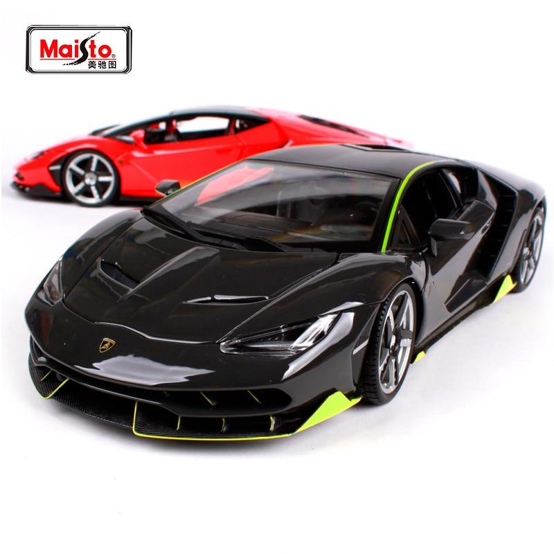 Maisto 1:18 lamborghini Centenario LP770-4 Sport Car Diecast Model Racing Car Toy New In Box Free Shipping NEW ARRIVAL 31386