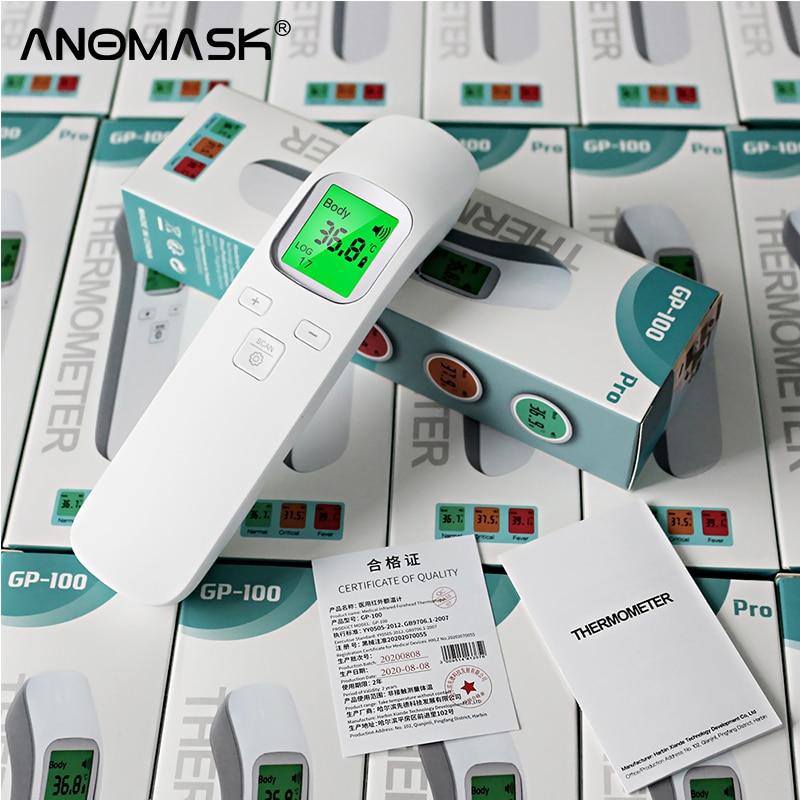 Medical Oximeter Blood Oxygen Saturation Meter Finger SPO2 PR Monitor Health Care Household Digital Fingertip pulse Temperature