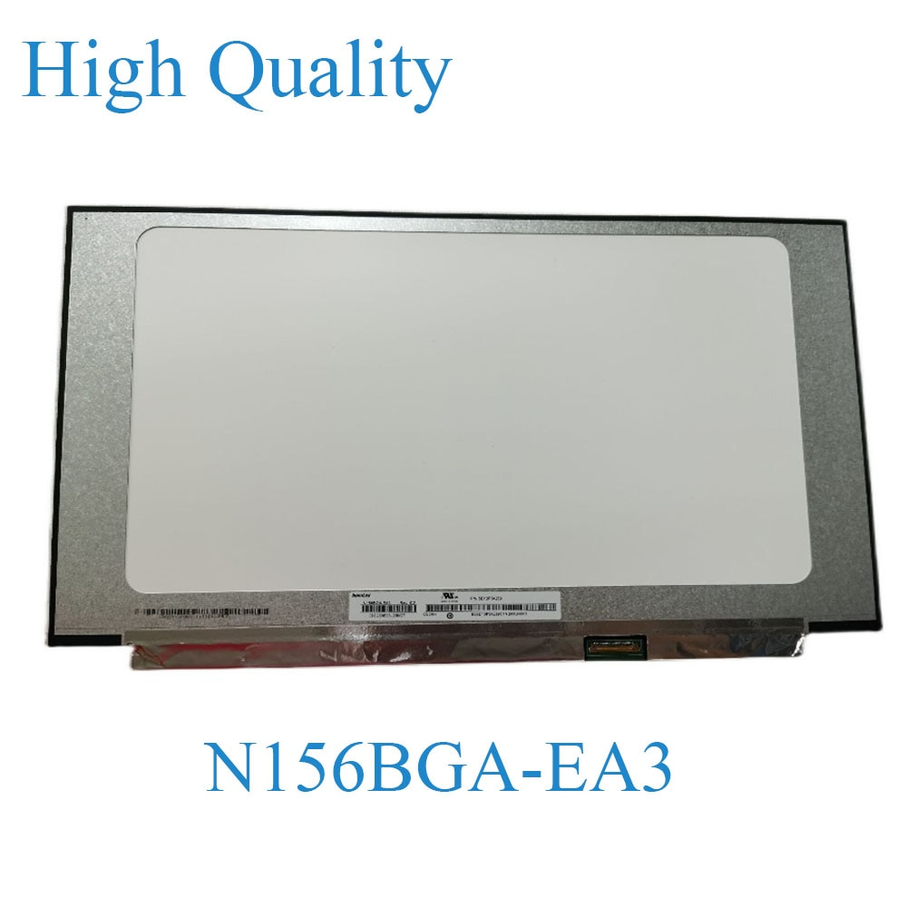 1366x768 محمول شاشة استبدال N156BGA-EA3 Rev.C2/NT156WHM-N44 V8.0/B156XTN08.1 HD عرض لوحة ال سي دي 30 دبوس EDP 15.6