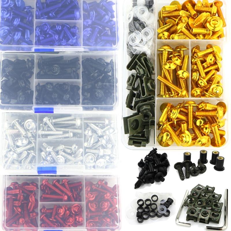 CNC completo kit de tornillos de carenado tornillos para Ducati Multistrada 950 de 1200, 1200S 1200 Enduro monstruo 695, 696, 796, 797, 821, 1200