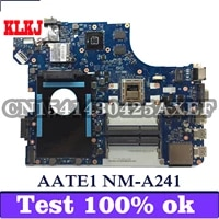 klkj aate1 nm a241 laptop motherboard for lenovo thinkpad e555 original mainboard a10 7300 r5 m240 2gb