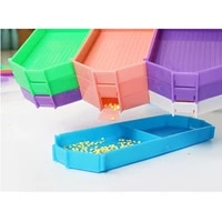 diy diamond painting tools stitch kits embroidery painting accessories point sticking rhinestone tray 2021 new tools set