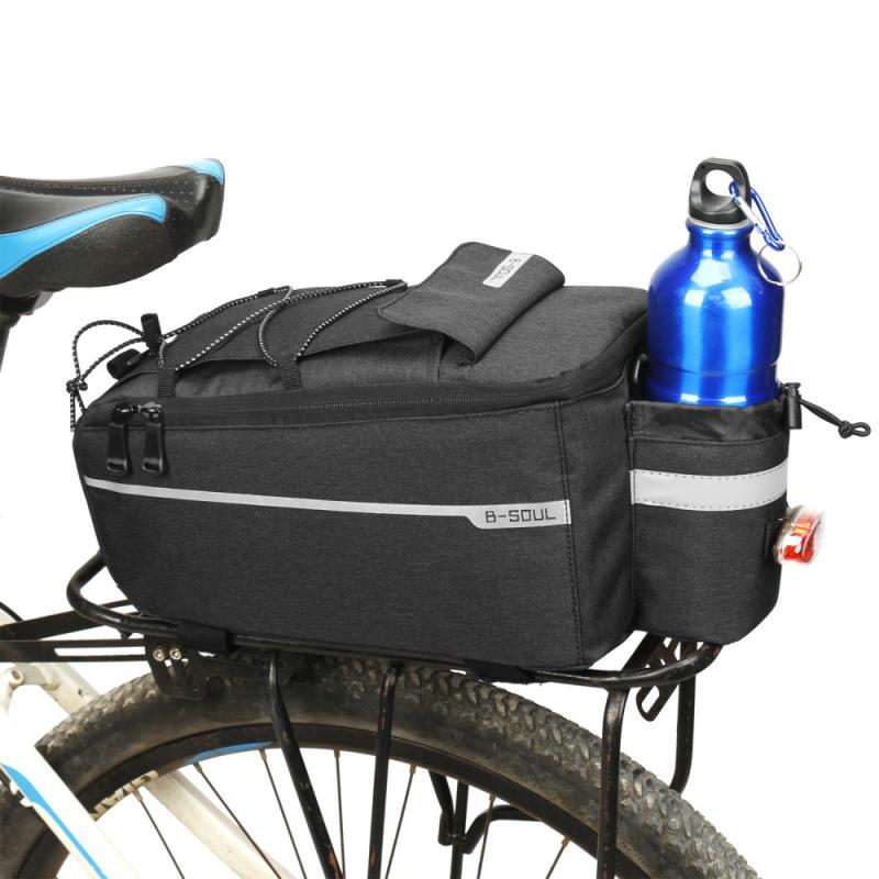 Велосипедная сумка на заднее сиденье, водонепроницаемая велосипедная сумка, велосипедная стойка, задний луч, посылка, держатель рамы, аксес...