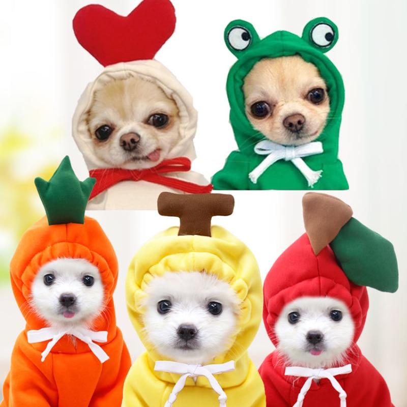 Pet Winter Sweater Medium And Large Size Dog Fruit Dog Cat Autumn And Winter Sweater Fleece Clothing Supplies Pet Clothes