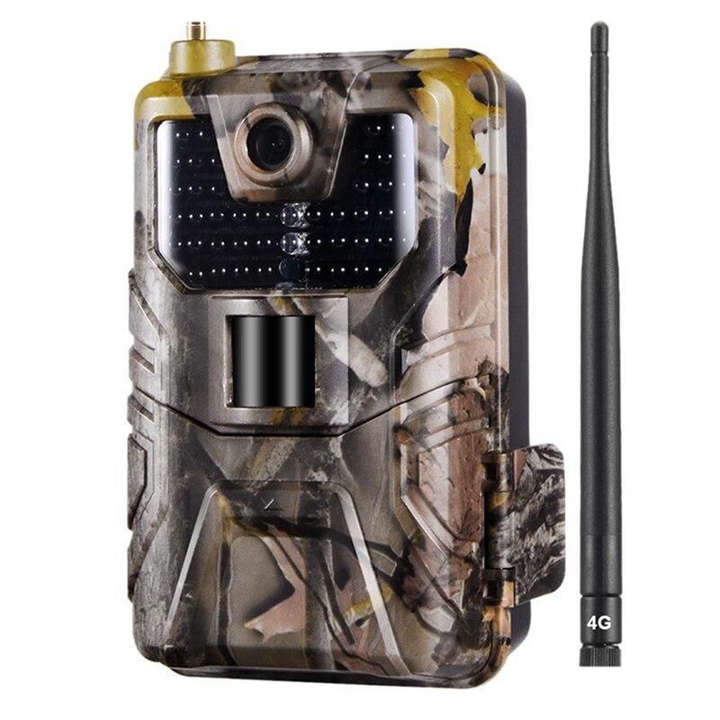 FFYY-Hc-900Lte 4G cámara de caza 16 MP 940nm cámara de rastreo Mms/Sms/Smtp/Ftp Ip65 Cámara salvaje 44 Led