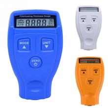 Portable Thickness Gauge Mini Paint Film Digital Tester Measure Coating Meter