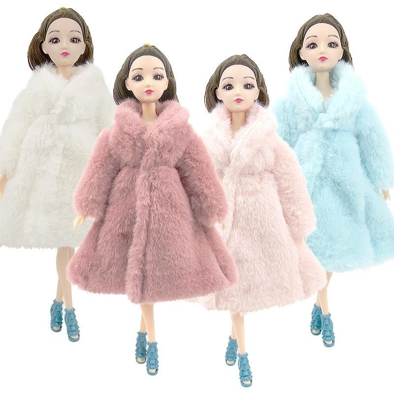 Conjunto de ropa de abrigo de piel suave de manga larga para...