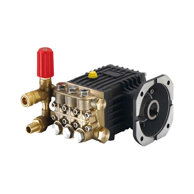 مجموعة رأس مضخة التنظيف بالضغط العالي ، 380 فولت/220 فولت ، للاستخدام التجاري/المنزلي ، لغسيل السيارات ، رأس غسيل نحاسي عالي الطاقة