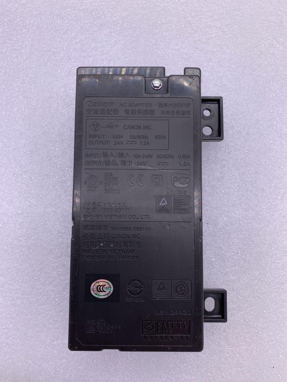 تستخدم K30319 موائم مصدر تيار ل canon 24 V 1.2 MX420 MX410 MX340 MX358 MX428 MX368 طابعة أجزاء