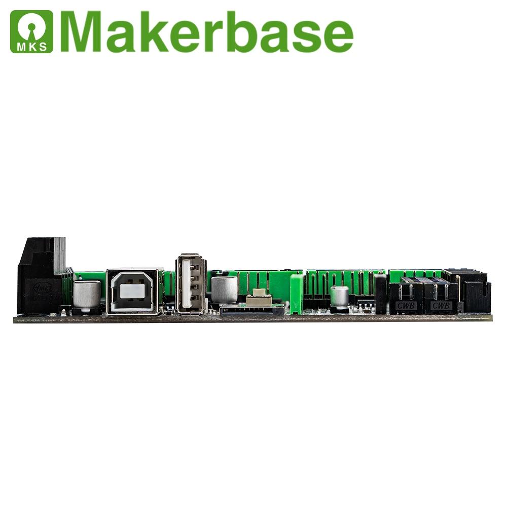 Makerbase MKS روبن نانو V3 طابعة ثلاثية الأبعاد اللوحة M4 الأساسية TFT اللمس U القرص