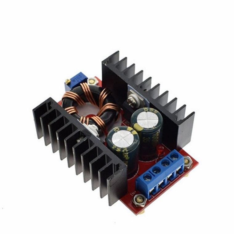 10-30V a 12-35V Step Up CV CC 150W 10A CC Boost Converter fuente de alimentación del coche LED controlador cargador regulador de voltaje ajustable
