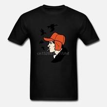 The Catcher In The Rye T Shirt Design  J D Salinger Kawaii Discount 100 % Cotton Kawaii For Anime