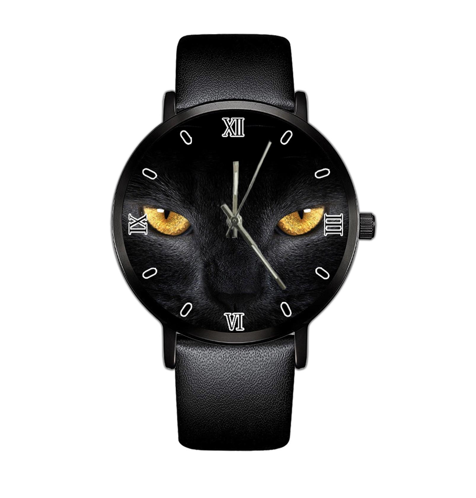 2021 Men's Minimalist  Fashion Quartz Watch Leather Belt Quartz Elegant Ultra Thin Watch  Business Clock Simple Design Fa