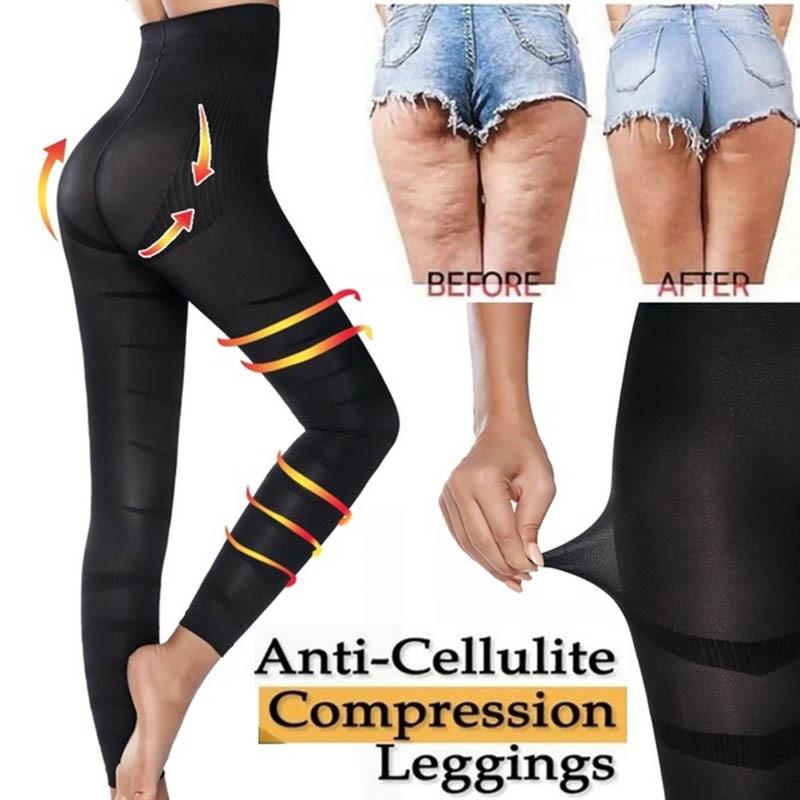 Леггинсы с высокой талией для женщин, скульптурные леггинсы для сна, облегающие трусики, облегающие леггинсы, облегающие брюки для похудения