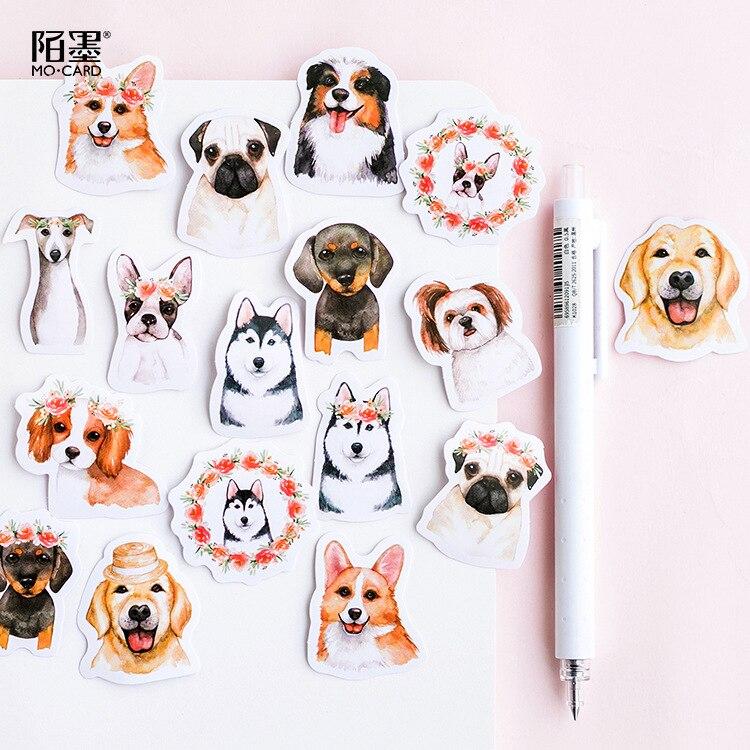 lote-de-45-unidades-de-pegatinas-con-diseno-de-perro-para-manualidades-adhesivo-papeleria-kawaii-etiqueta-adhesiva-para-diario
