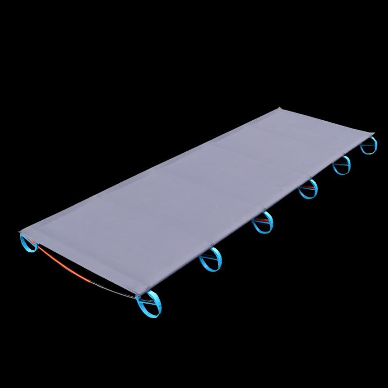 Cama de aluminio para acampar, camas de cuna, cama caliente
