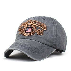 2021 four seasons letter embroidery cotton Baseball Cap Adjustable outdoor Snapback Hats for men and women 253