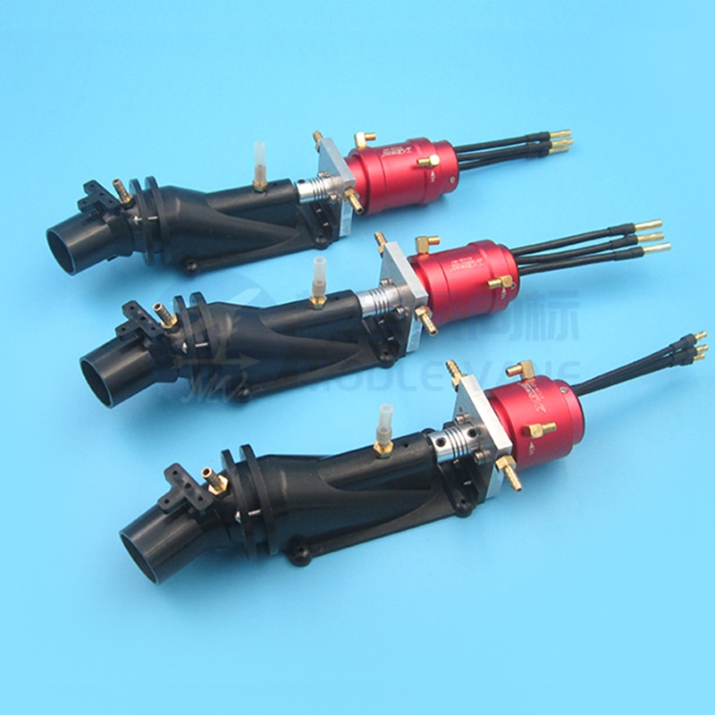 1Set 26mm Water Thruster Waterproof Sprayer Pump High Speed Water Jet Pumps W 2835/2850/2860/3650 Motor for RC Boats Modified enlarge