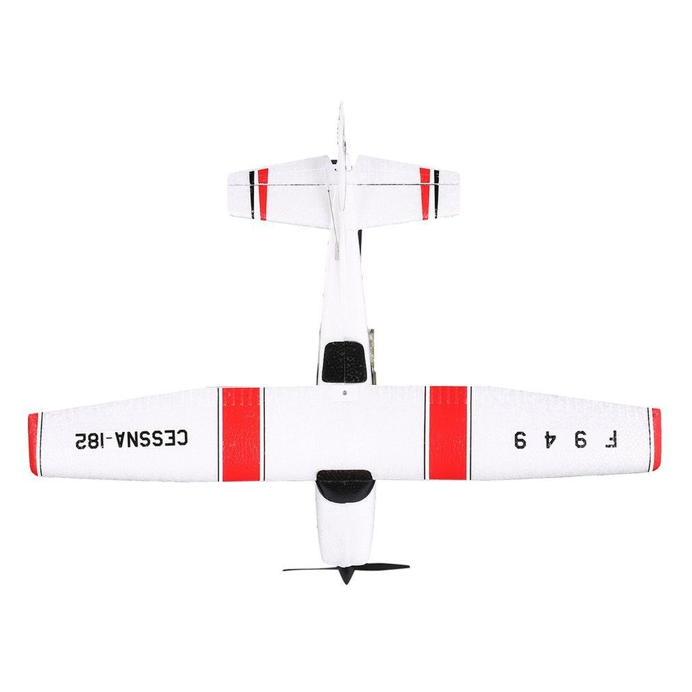WLtoys F949 2.4G 3Ch RC Airplane Fixed Wing Plane Outdoor toys Drone RTF Upgrade version Digital servo propeller, with Gyroscope enlarge