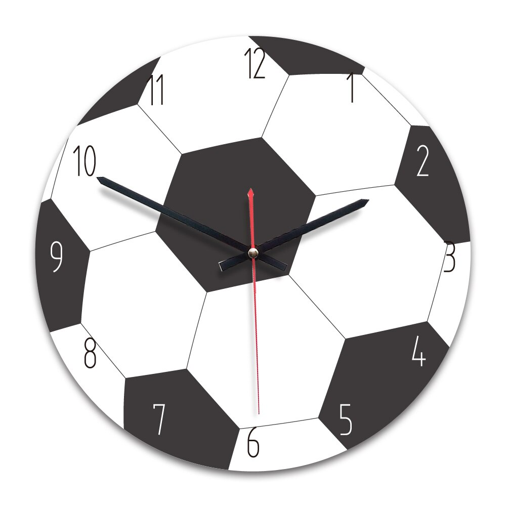 Reloj de pared M.Sparkling acrílico nuevo reloj Decorativo de pared de cocina creativo Bola de sala deporte silencioso