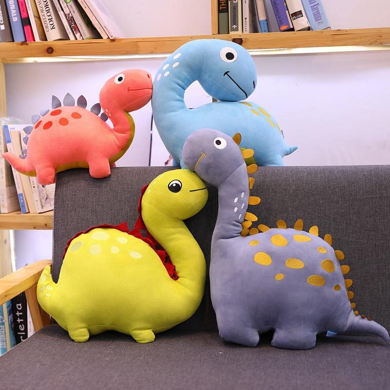 1 шт. 30 см креативные Мультяшные плюшевые игрушки динозавр мягкие животные плюшевые динозавры Подушка тиранозавр Куклы Дети Мальчики Девоч...