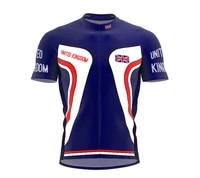 great britain various choices summer men team cycling jersey road mountain race bike riding tops bike wear quick drying clothing