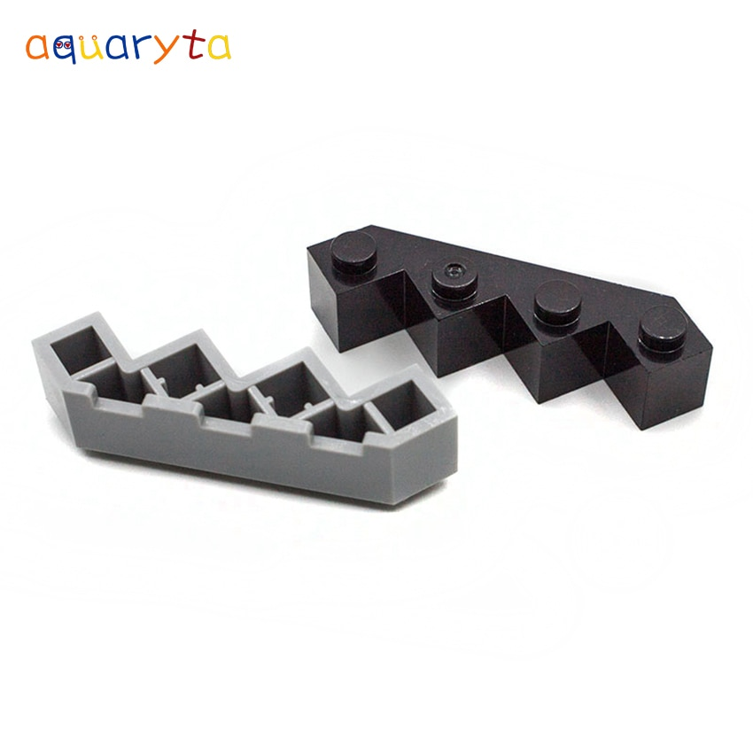 Строительные блоки Aquaryta, 20 шт., Facet, 4x4, детали MOC, совместимы с 14413, сделай сам, развивающие креативные игрушки для подростков