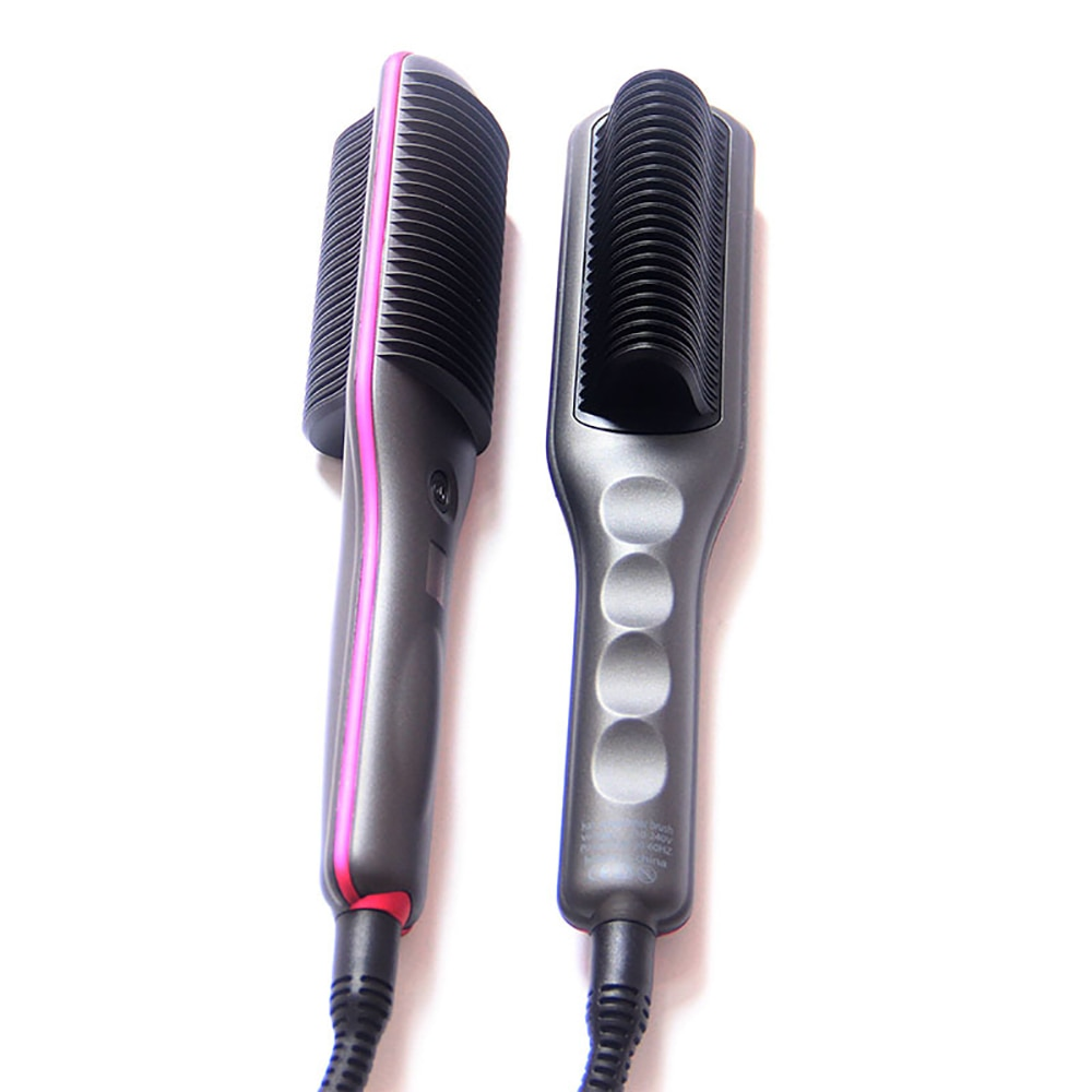 Electric Hair Brushes Straight Comb Anti-scald Straight Hair Comb Hot Comb Straightener Hair Straightener Brush 360 Rotatable enlarge