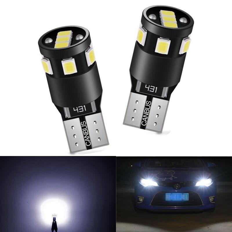 T10 w5w Canbus luz Interior del coche 194 501 Led 30 3014 instrumento SMD luces bombilla Domo luz No Error 12V 6000K para Kia