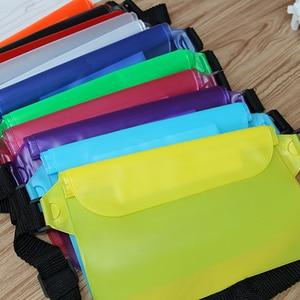1pcs Waterproof waist bag Waterproof Drift Diving Swimming Bag Mobile phone storage Bags with Belt For swimming boating