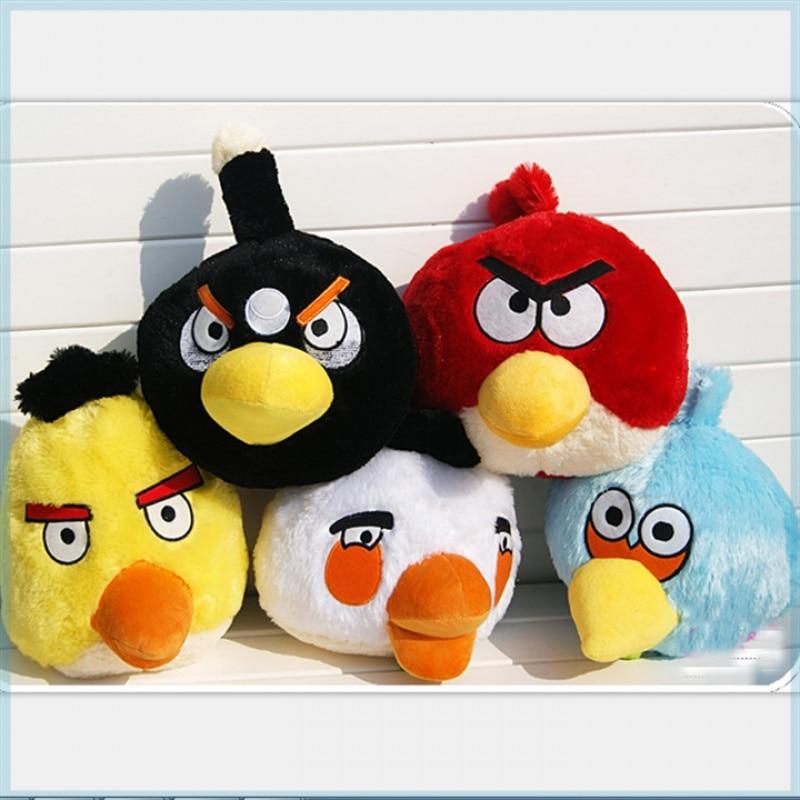 Plush Toy Movie Game Angry Bird Plush Doll Piggy Bird Pillow Toy Gift Hobby
