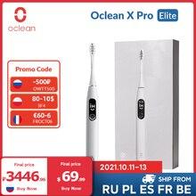 Welt Premiere]Oclean X Pro Elite Sonic Stumm Elektrische Zahnbürste Smart Elektrische Zahnbürste IPX7 Schnelle Lade Upgrade für X Pro