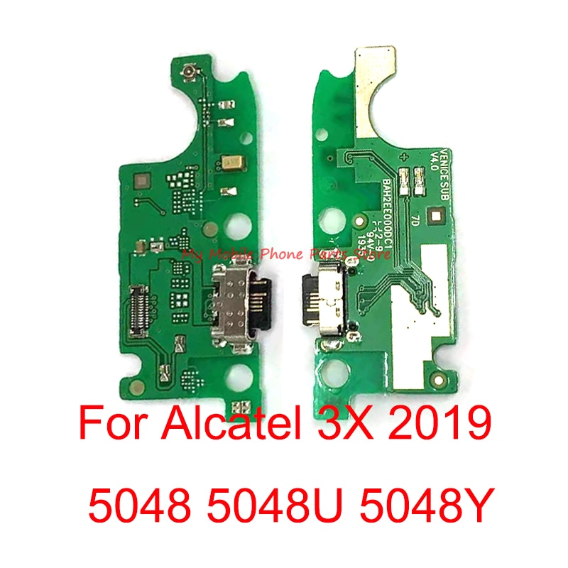 USB Power Charging Charger Connector Plug Port Dock Flex Cable For Alcatel 3X 2019 5048 5048U 5048Y