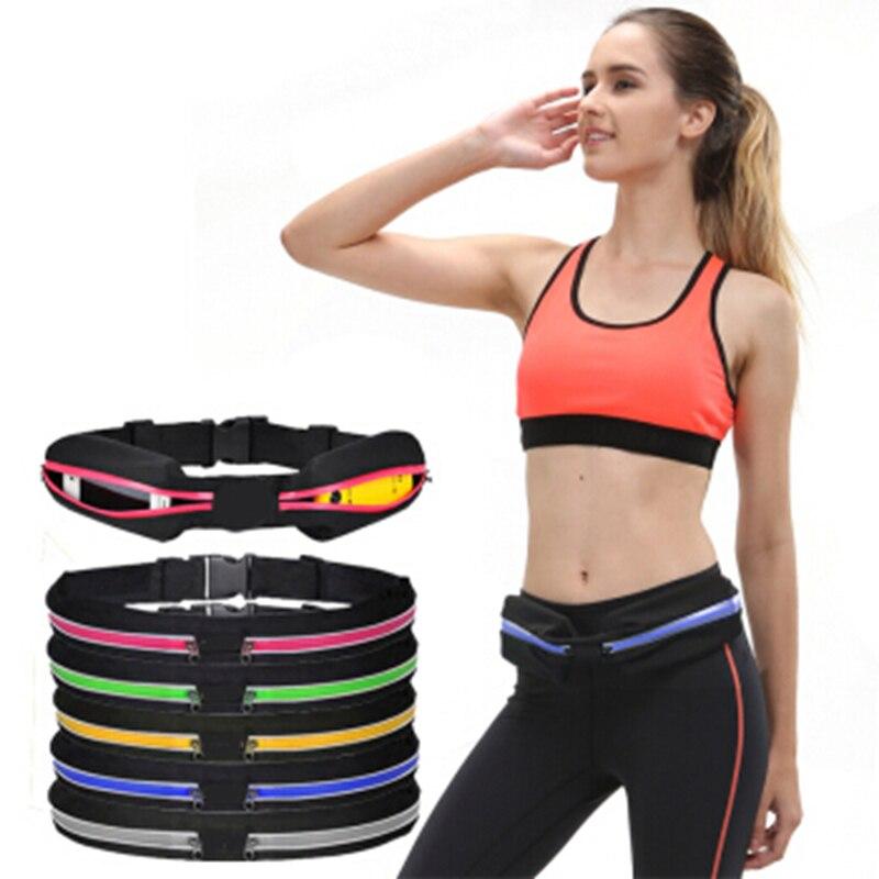 Сумка на молнии, спортивная сумка, поясная сумка для бега, переносная водонепроницаемая сумка для бега и велоспорта, уличная сумка