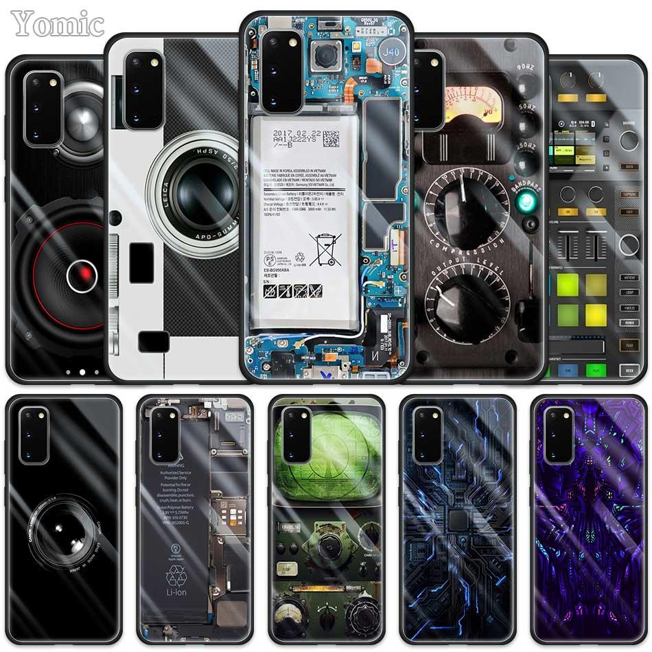 Funda AAA para Samsung Galaxy S20 Ultra 5G S10 Lite S10e S9 S8 Note 8 9 10 Plus, funda de teléfono de vidrio templado